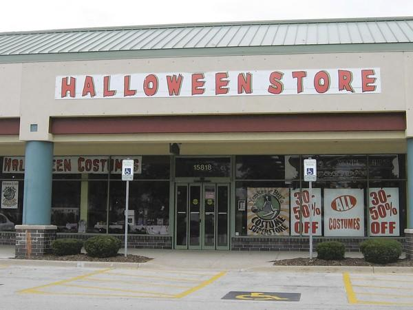 A Halloween newcomer this year is a store called Yankee Bill's Costume Superstore at 15818 S. Harlem Ave. in the Home Depot Center in Orland Park.