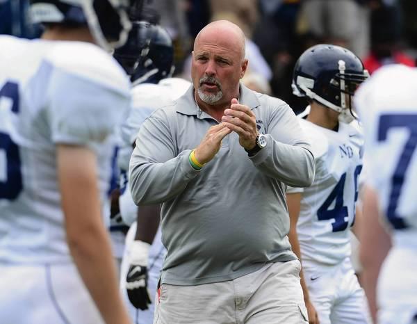 Notre Dame coach Chuck Muller