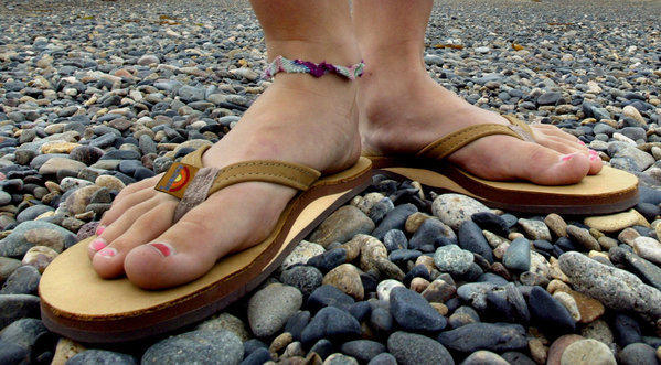 At two San Juan Capistrano parks, you wear flip-flops at your own risk.