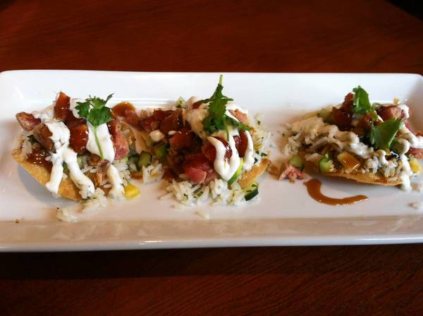 Food Find: Seared Ahi Nachos at Cove Tavern in Newport News