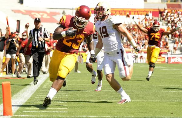 Tre Madden's rise to the upper echelon of USC running backs has won over plenty of admirers, including Pro Football Hall of Famer Marcus Allen.