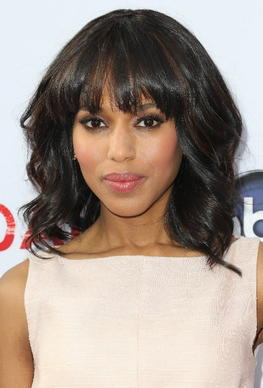 "Actress Kerry Washington attends Academy of Television Arts & Sciences' Presents an Evening with ""Scandal"" at the Leonard H. Goldenson Theatre on May 16, 2013 in North Hollywood, Calif."