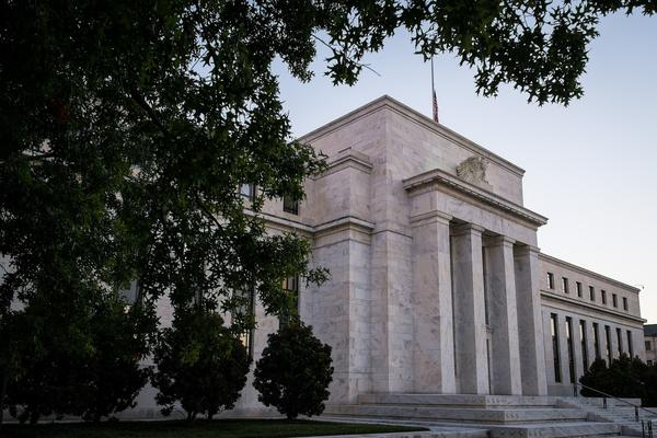 Federal Reserve headquarters in Washington.