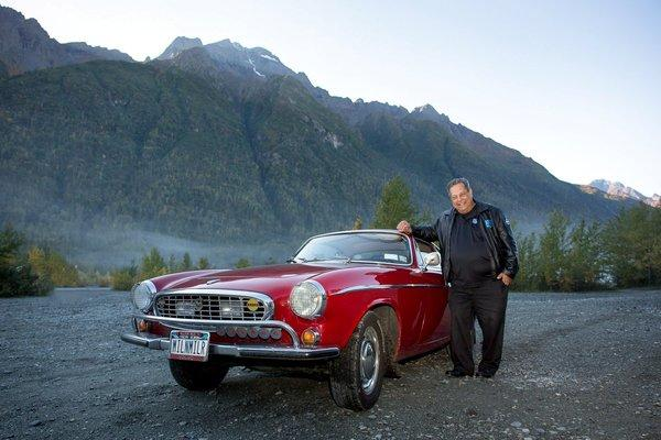 Irv Gordon, 74, passed the 3-million-mile mark Tuesday in his 1966 Volvo P1800 during a road trip on Alaska's Highway 1.