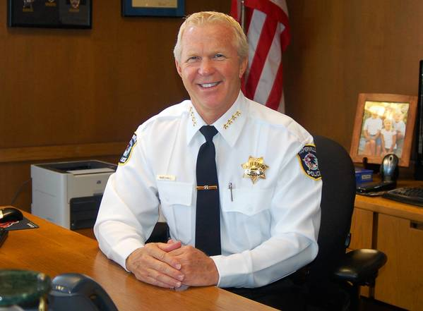 Naperville Police Chief Bob Marshall has stepped up patrols in the wake of a rash of burglaries on the city's south side.