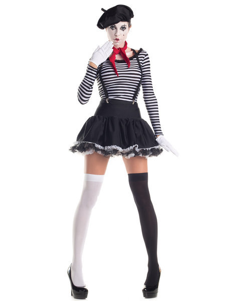 Sexy, adult Halloween costumes - Mime