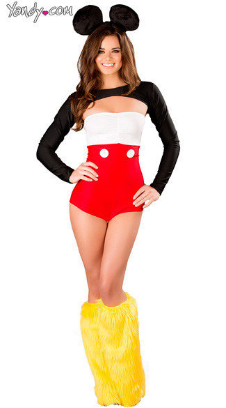 Sexy, adult Halloween costumes - Mickey Mouse