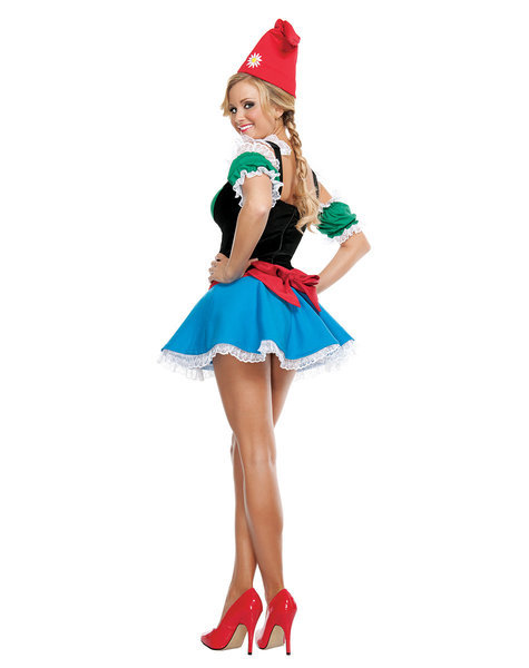 Sexy, adult Halloween costumes - Garden gnome