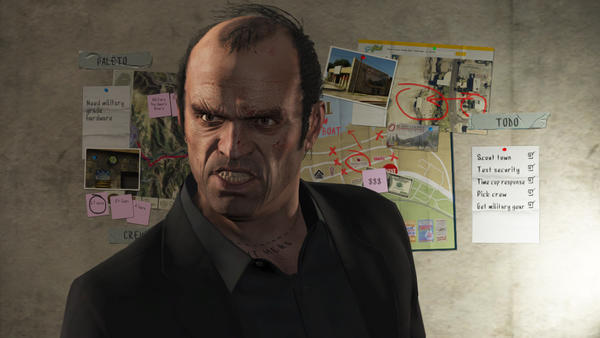 a screen shot from the video game, Grand Theft Auto V.