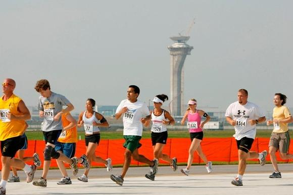 O'Hare 5K/10K On The Runway race