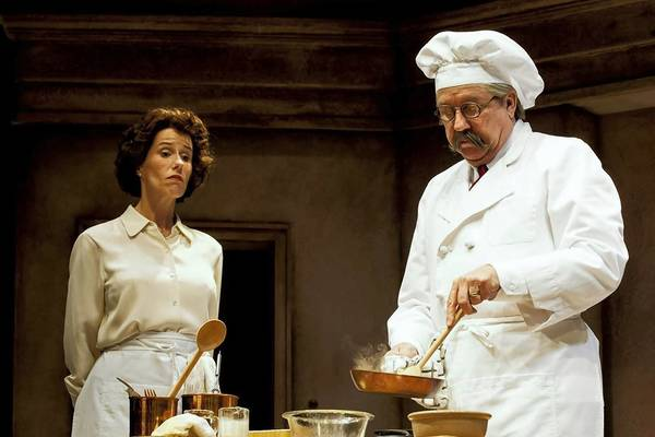 Karen Janes Woditsch and Terry Hamilton in 'To Master the Art' at the Broadway Playhouse.