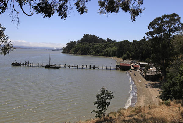 A replica of a Chinese junk is docked at at China Camp State Park on the shore of San Pablo Bay in 2011. An independent panel has been charged with the task of examining the troubled state park system.