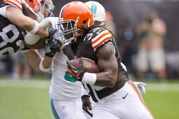 Running back Trent Richardson is on his way to the Colts.