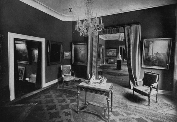 The interior of Max Stern's Dusseldorf art gallery, before the Nazis stripped him of his license and forced him to liquidate.