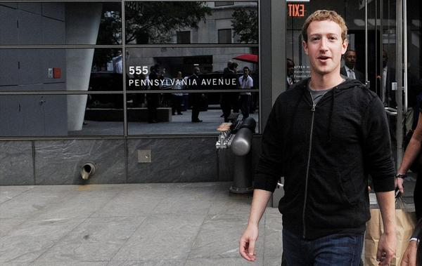Facebook Chief Executive Mark Zuckerberg is in Washington to lobby for immigration reform.