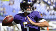 Flacco returns to team facility upbeat after busy weekend