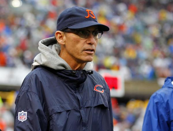 Bears coach Marc Trestman during the second half against the Vikings at Soldier Field.