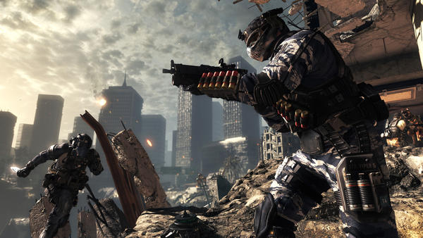"A scene from the Activision video game ""Call of Duty: Ghosts."""