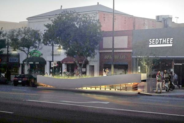 The city of Glendale plans to replace four parking spaces in the 200 block of North Brand Boulevard with a parklet, a small public space open to the public. The parklet will be the first in the city and if it's successful, it could pave the way for more to come. Other cities such as Los Angeles and San Francisco also have parklets.