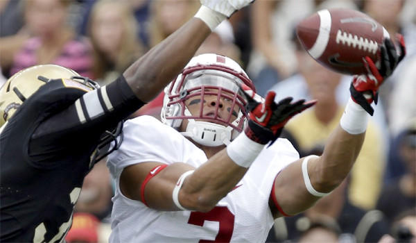 Stanford topped Army, 34-20, to stay perfect at 2-0 on the season and stay No. 1 The Times' college football top 25.