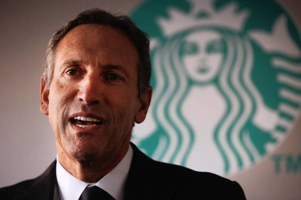 Starbucks CEO Howard Schultz says he doesn't want guns in his stores, though he stops short of issuing a flat-out ban.