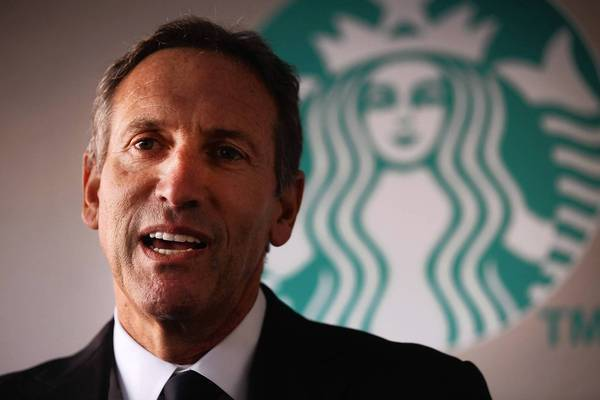 """Starbucks CEO Howard Schultz released a letter asking, """"that customers no longer bring firearms into our stores or outdoor seating areas, even in states where 'open carry' is permitted, unless they are authorized law enforcement personnel."""""""