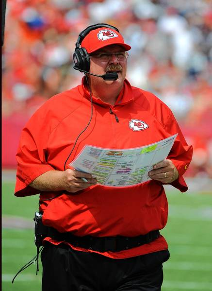 Andy Reid, who spent 14 mostly successful seasons in Philadelphia, returns tonight leading the 2-0 Chiefs into Lincoln Financial Field.