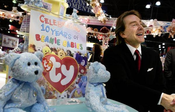Chicago-area billionaire Ty Warner, the creator of Beanie Babies, was charged Wednesday with felony tax evasion. He reached a deal that calls for him to pay a $53.5 million penalty.