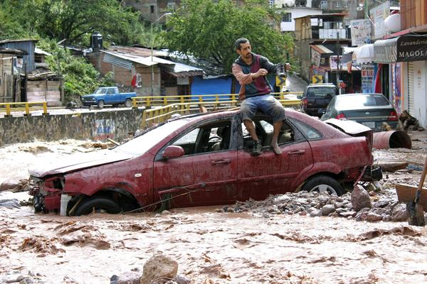 Flooding in Mexico - Chilpancingo