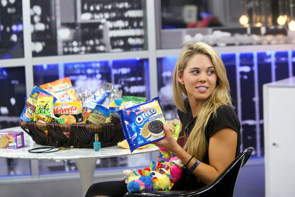 "Aaryn Gries of ""Big Brother"""