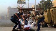 Egyptian forces clash with militants near Cairo