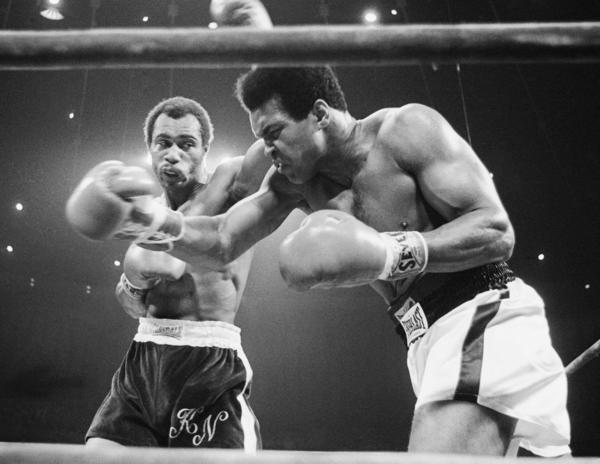 Ken Norton and Muhammad Ali