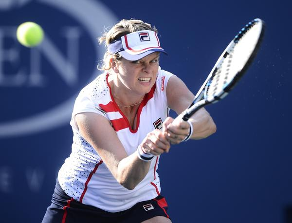 Kim Clijsters competes in the 2012 U.S. Open, her last tournament before her second retirement.
