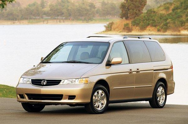 The 2003 Honda Odyssey is part of a recall to fix a faulty airbag system.