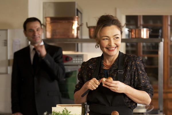 "Catherine Frot stars in ""Haute Cuisine."""