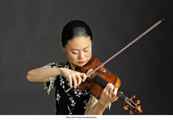 Violinist Midori will perform with the Virginia Symphony Sept. 20-22 in Newport News, Norfolk and Virginia Beach.