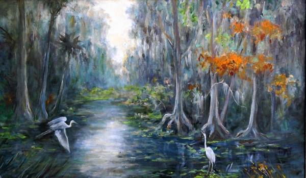 """Painting Eustis: Catherine Haynes Stockwell,"" works by the late Florida landscape painter, opens today with a reception from 6 -8 pm. at the Lake Eustis Museum of Art. Free for members, $5 for others. The museum is at 1 W. Orange Ave., Eustis. Details: 352-483-2900."