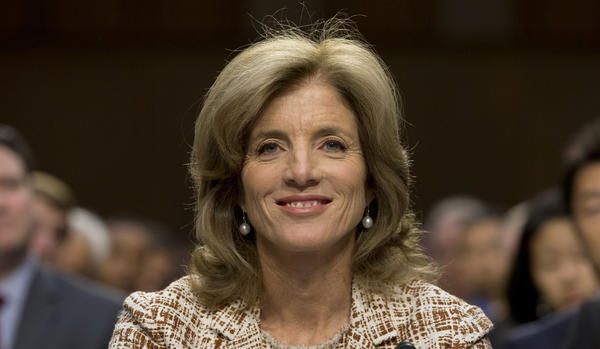 Caroline Kennedy appears before the Senate Foreign Relations Committee at a hearing on her nomination for ambassador to Japan on Capitol Hill.