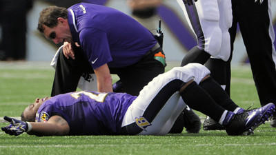 Hip expert doesn't expect Ray Rice to be sidelined long