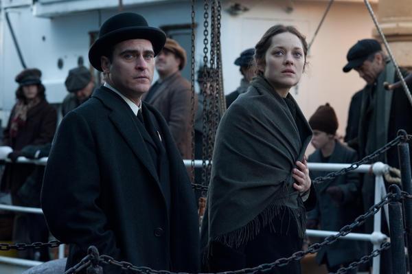 "Joaquin Phoenix and Marion Cotillard in ""The Immigrant."""