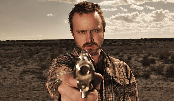 Aaron Paul stars in 'Breaking Bad,' which is an odds-on favorite for Emmy night.
