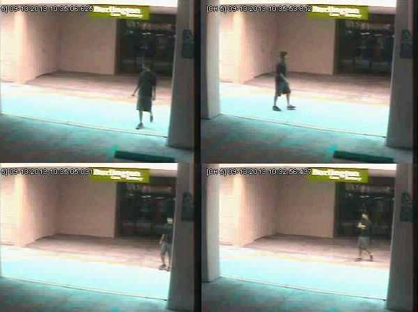Huntington Beach police released these surveillance photos Tuesday of a man believed to have committed sexual assaults. A suspect was arrested Wednesday.