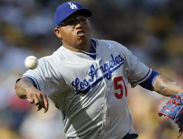 Ronald Belisario has pitched poorly his last few outings.