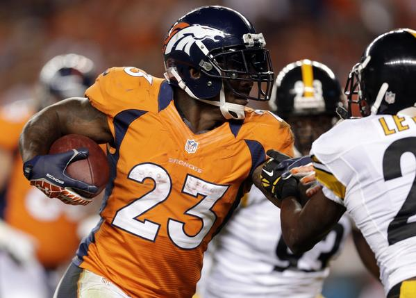 Running back Willis McGahee, shown last season with the Denver Broncos, is said to have agreed to terms with the Cleveland Browns.
