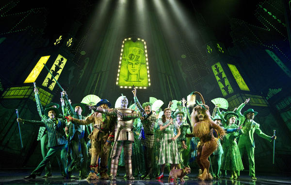 "The cast of the Toronto production of Andrew Lloyd Webber and Jeremy Sams' musical adaptation of ""The Wizard of Oz,"" starting its North American tour at the Pantages Theatre in Hollywood."