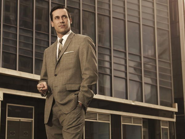 "Jon Hamm as ""Mad Men's"" Don Draper"