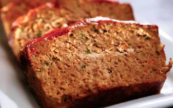 The Overland Cafe's turkey meatloaf