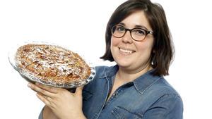Apple custard crumb pie