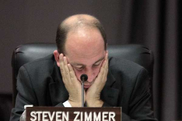 Los Angeles school board member Steve Zimmer.