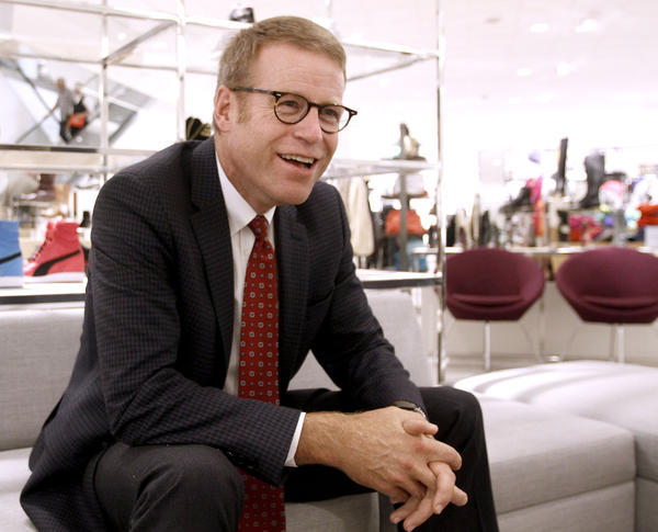 Nordstrom president Blake Nordstrom talks about the upcoming grand opening of the new store at the Americana at Brand on Thursday, Sept. 19, 2013. Nordstrom had a store across the street at the Glendale Galleria for 30 years.